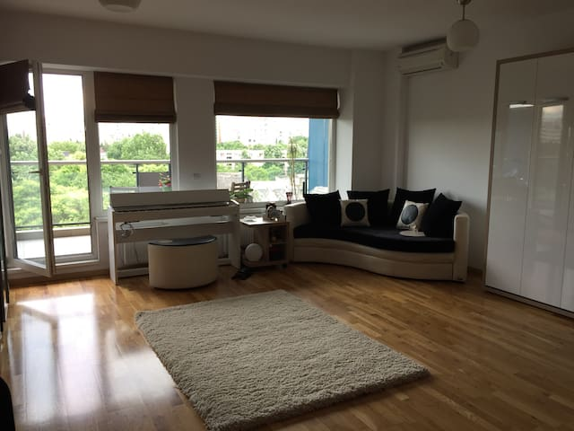 Modern, cozy studio in Bucharest! - București - Apartamento