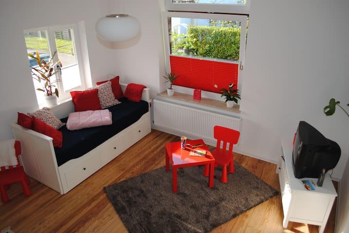 Helles und gemütliches Appartement!