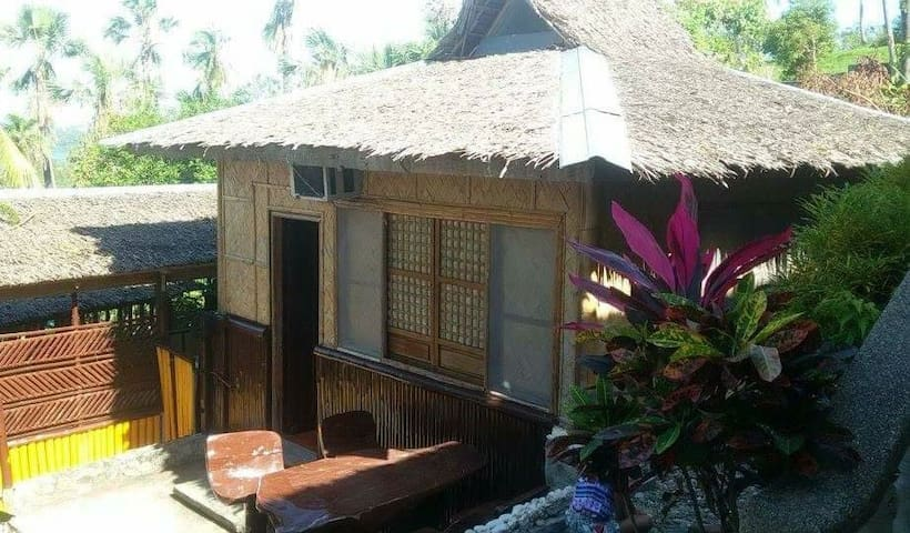Family cottage room **Good for 6 person or more** - Puerto Galera - Hut