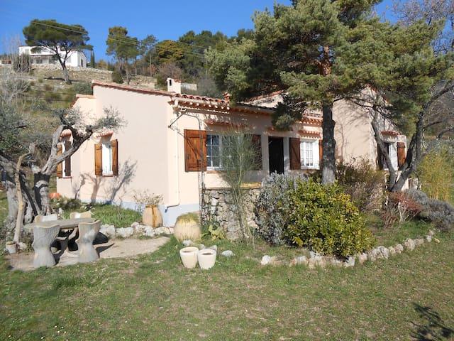 Mas Provençal en Location d'été - Seillans - Hus