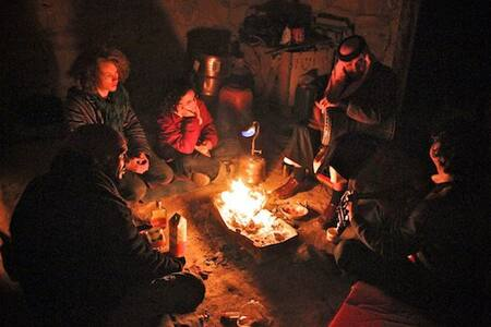 Cave and Nomad Bedouin homestay in Petra