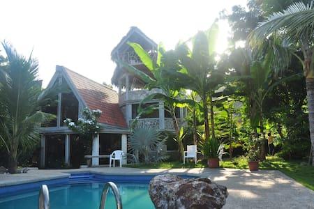 Casa en la Playa, en Ayampe Ecuador - Huis