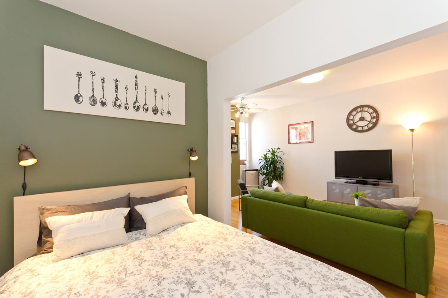 Welcome home to your studio apartment!