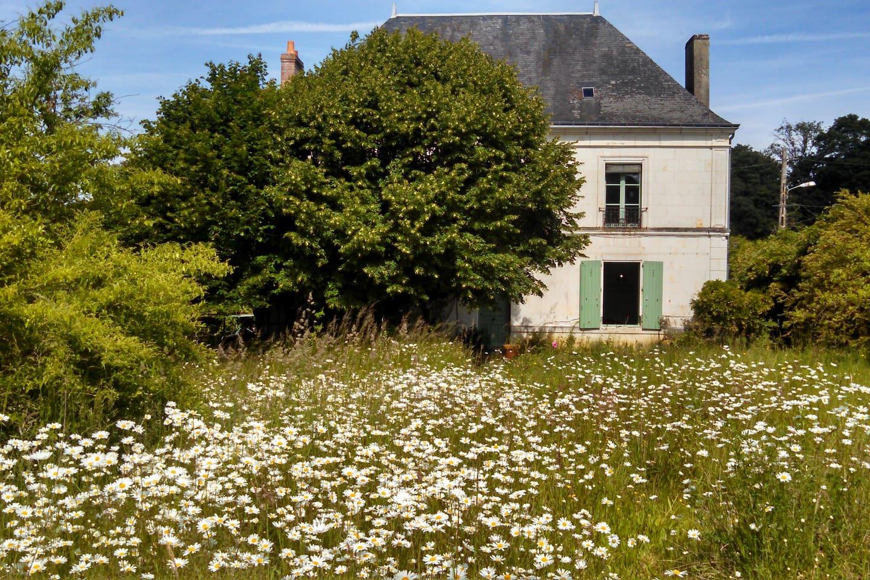 La maison, sur un hectare de verdure