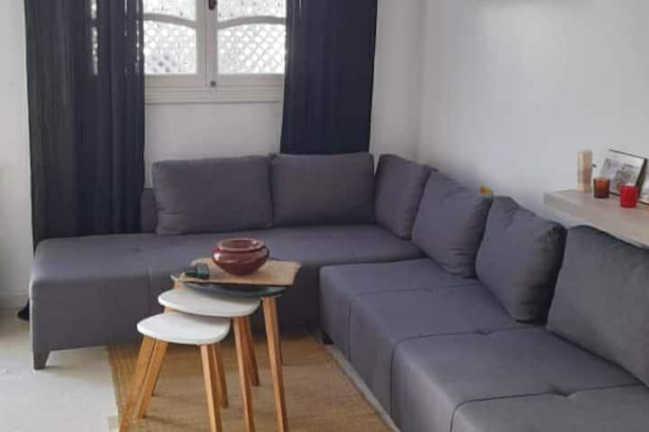 Elegant  duplex-apartment in the heart of la Marsa