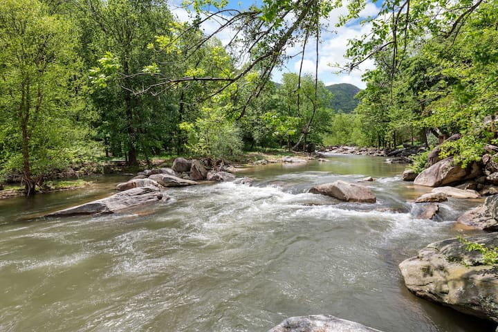 Cascading Falls - Mr Lake Lure Vacation Rentals