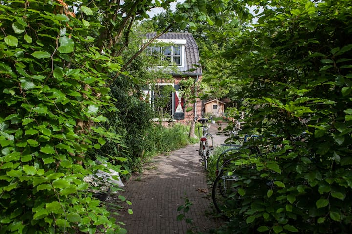 Quiet Romantic House near Forest - Zeist - Huis