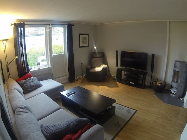 Apartment with two rooms and a nice - Bergen - Apartament