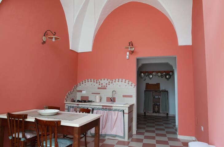 Palazzo Don Alberto, quattro posti nel Borgo. - Taviano - Casa