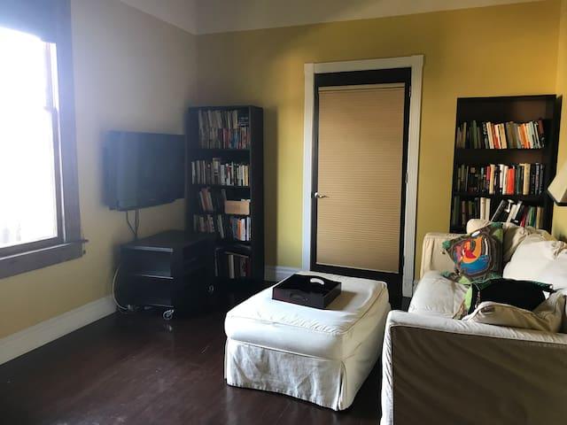 Downstairs bedroom/den