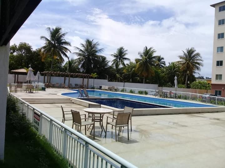 Apartamento com piscina em Ilhéus -BA