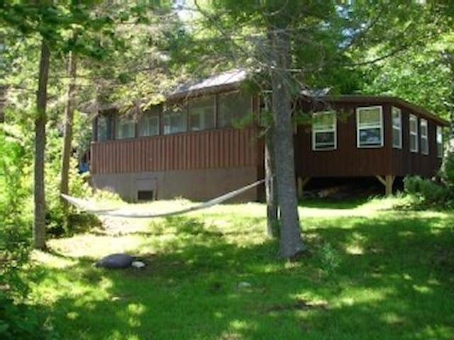 Shore front rental -Embden Maine!