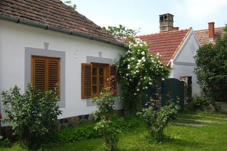 Wunderschöne Bauernhäuser in Ungarn - Hegymagas - บ้าน