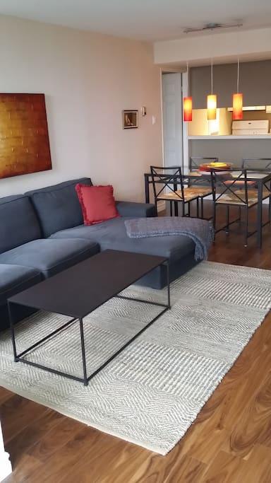 Modern decor.