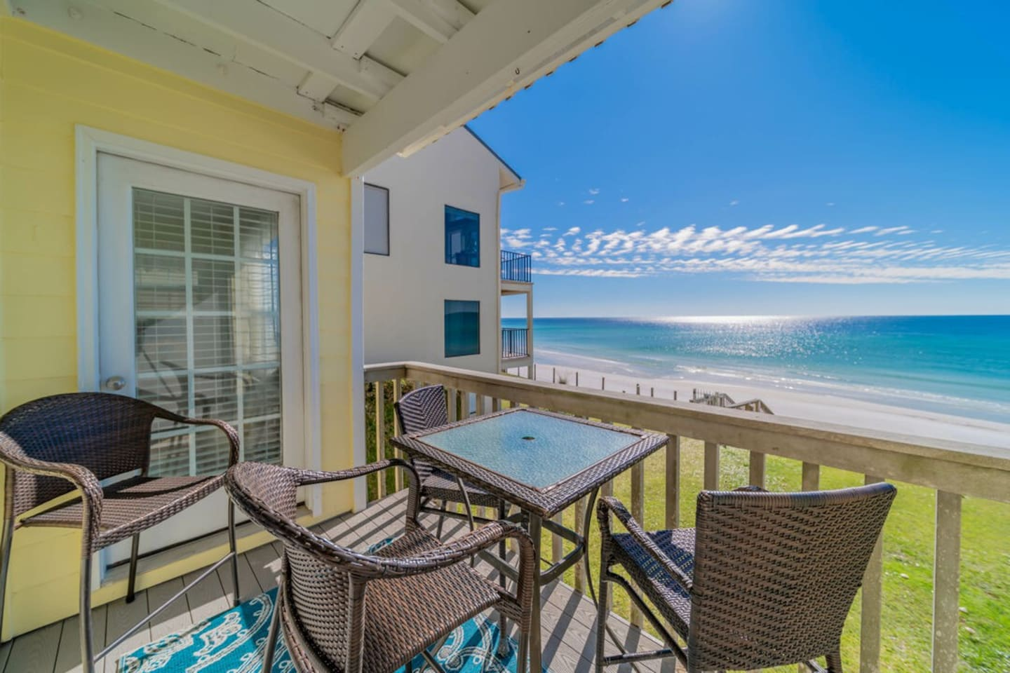 The Breezeway ~ Blue Mountain Beach ~ Porch ~ Paradise Properties