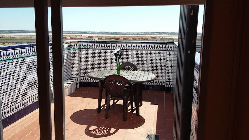 Prvt RoomPrvt Terrace/SUMMER RENTAL - Huelva - Apartmen