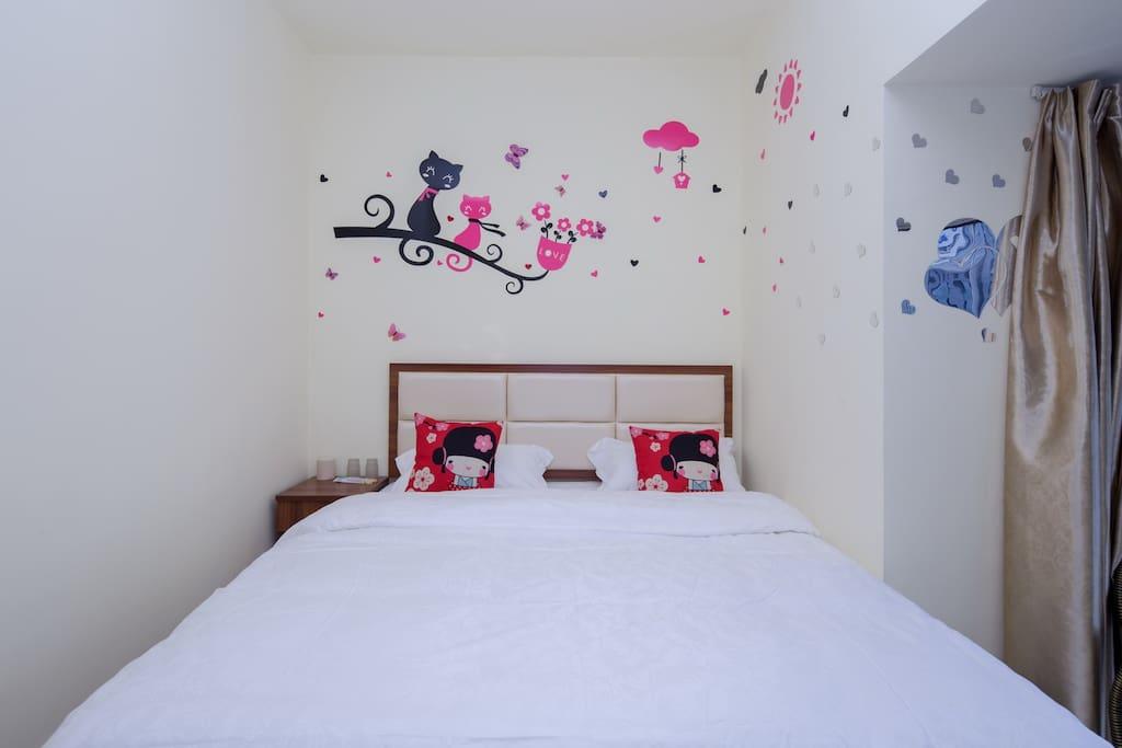 温馨舒适干净大床房