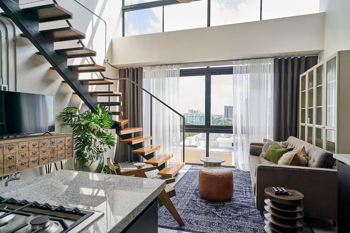 Modern and Unique Loft in Santo Domingo