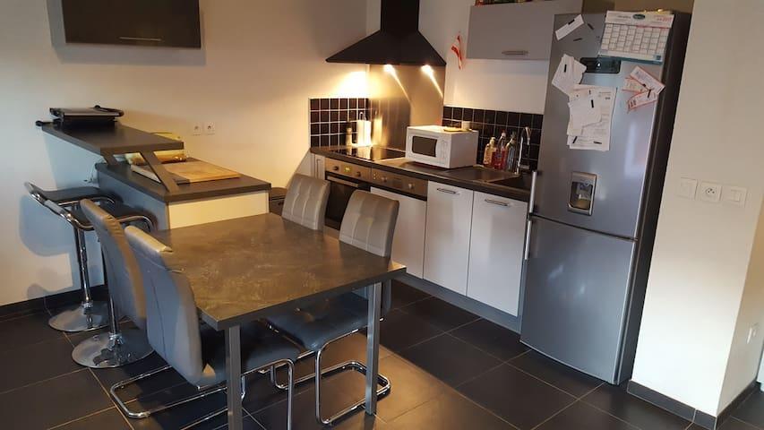 Appartement T3 ( 60m²) avec Jardin - Solliès-Pont - Apartamento