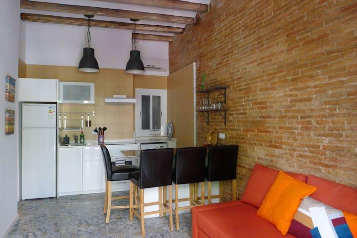 Carretera de la Bordeta-Cozy Home - Barcelona - Rumah