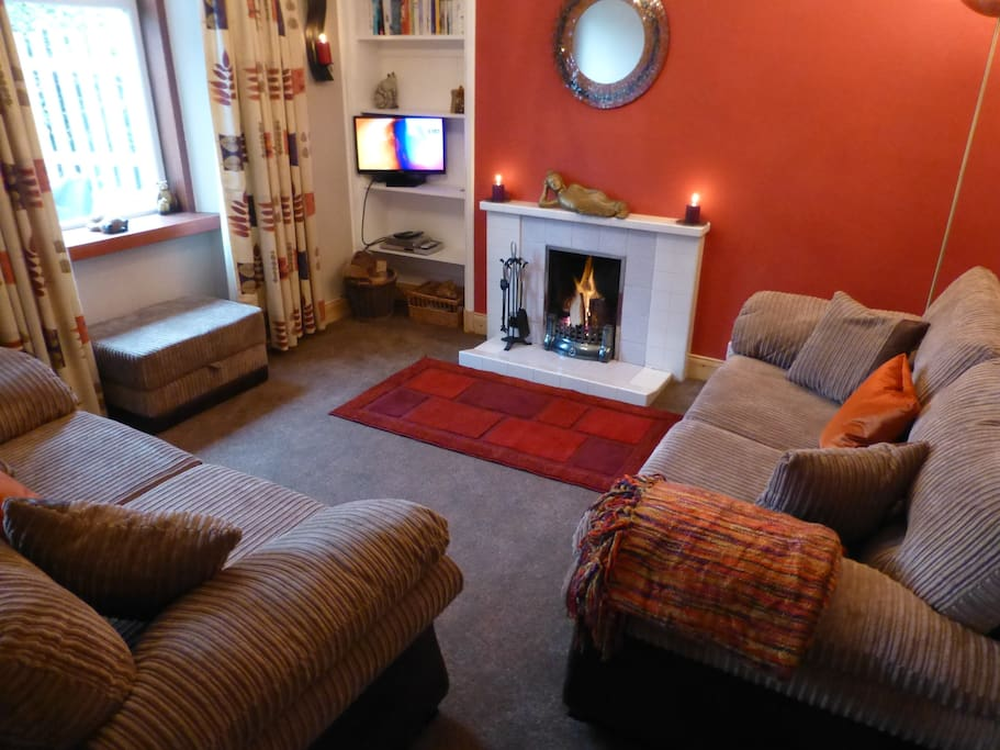 The Bolt-Hole's Cosy Lounge