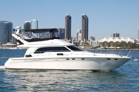 Luz de Luna. 50' of Luxury and Zen - San Diego - Barca