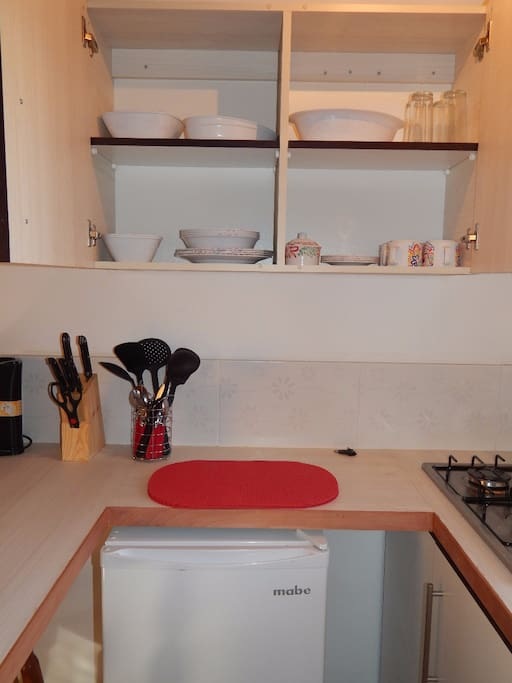 Cocina equipada para 6 personas
