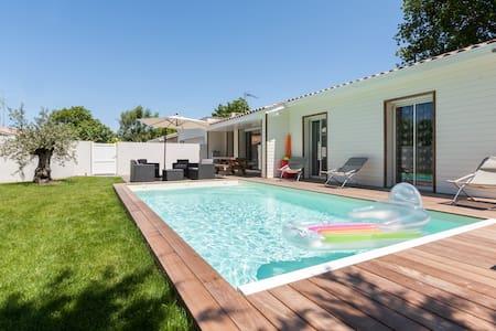 Villa avec piscine et jardin 8 personnes - Gujan-Mestras