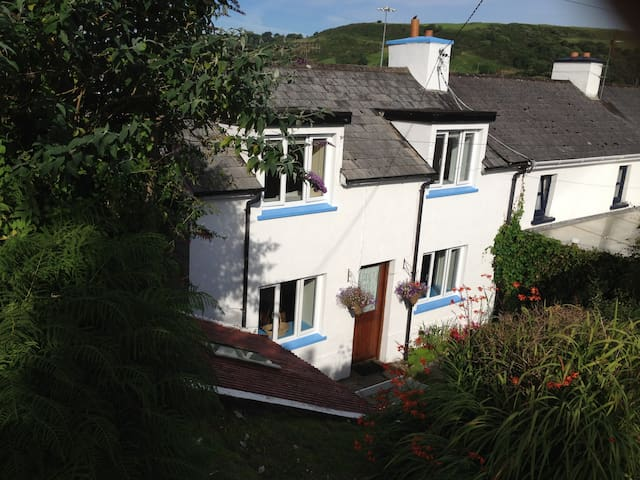 West Cork: coastguard cottage on Glandore Harbour.