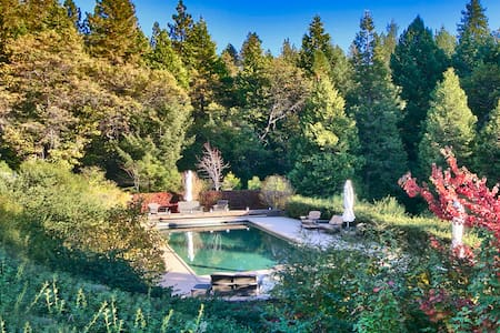 Country Luxury with Gorgeous Pool - Pioneer - Ház