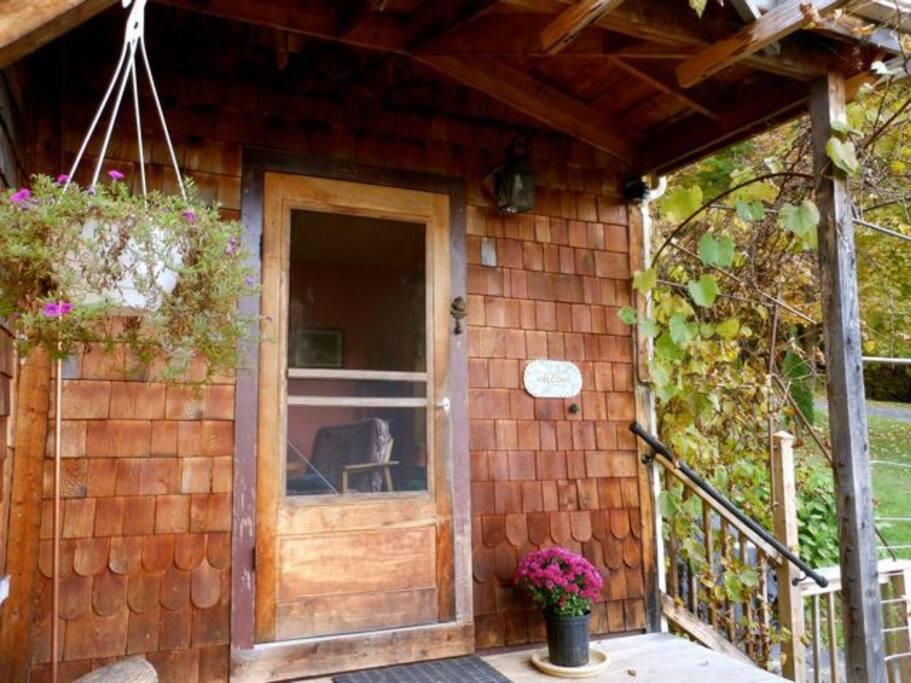 Main Porch Entry
