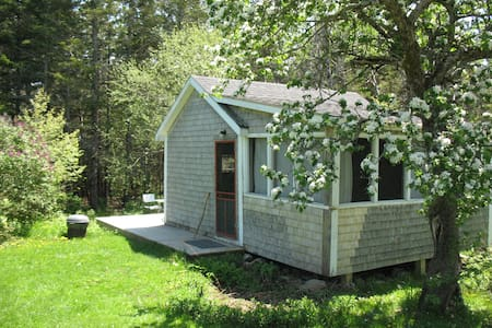 Artist's cabin on Yellow Birch Farm - Pembroke - Srub