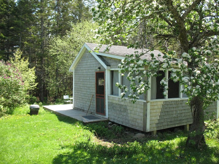 Artist's cabin on Yellow Birch Farm