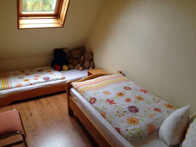 Zimmer für 2 Kinder oder 1 Erwachsener und einem Kind ( Schlafzimmer 2)