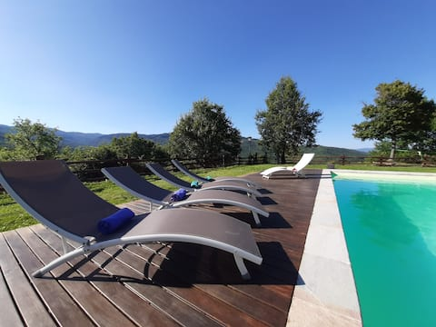 Luxury Tuscany Villa Galerpe with private pool!