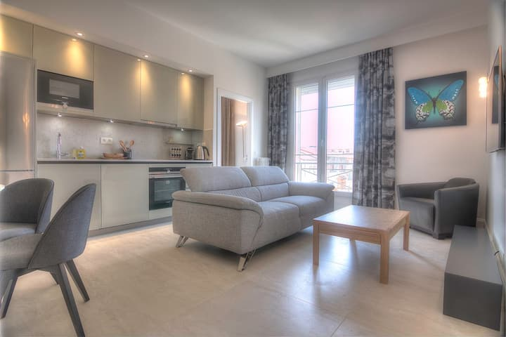 Idéal 5A1 - 3 bedrooms - 3mn from le Palais