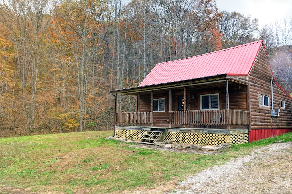 The honey hole cabins for rent in stanton kentucky for Kentucky cabins rentals