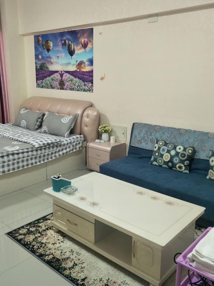 市委对过新东方国际一居室公寓