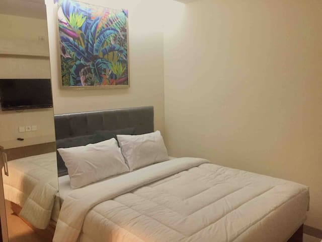 Chrysant 103, 1 Bedroom (Queen Bed) @Setiabudi