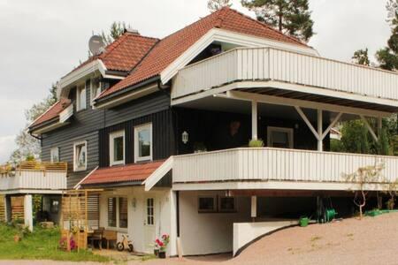 Family friendly wood house - Røyken - Ev