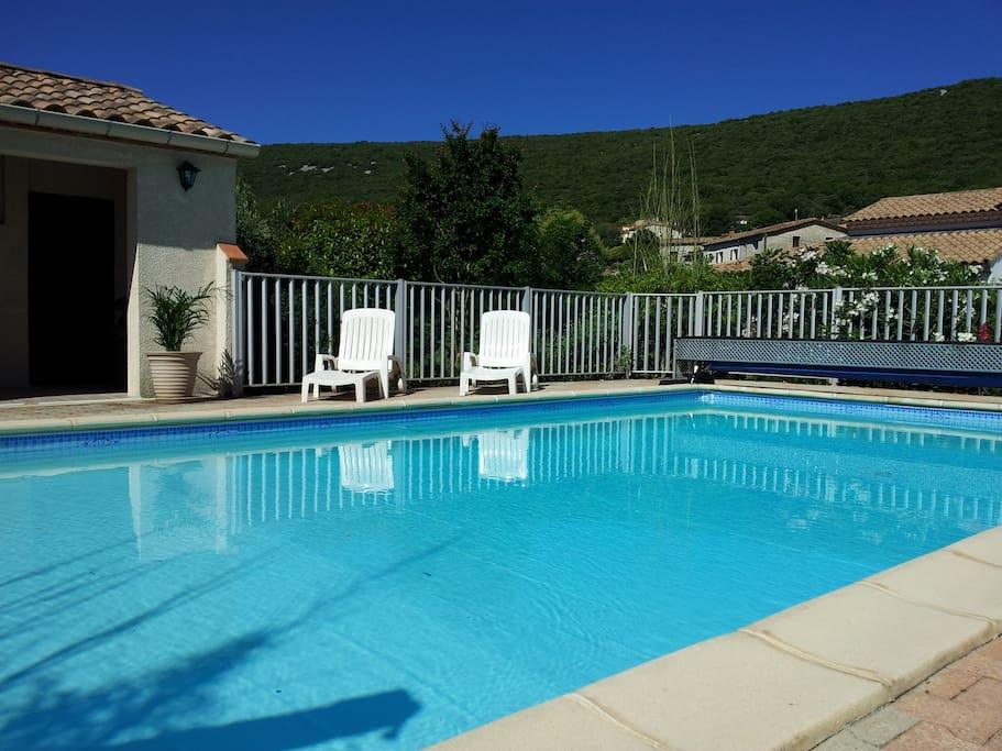 piscine totalement privative