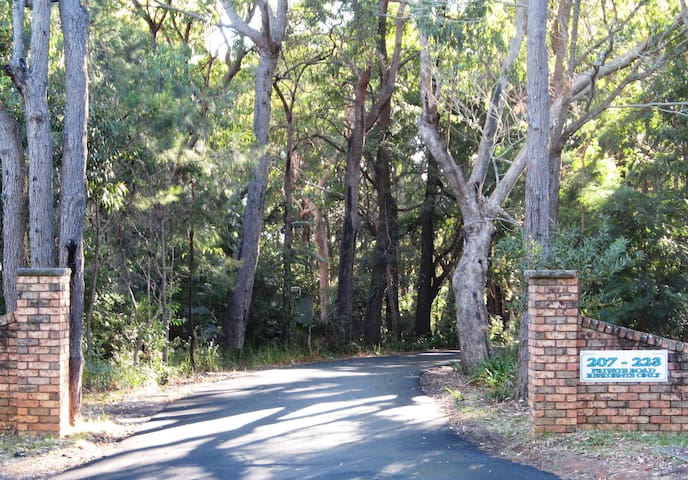 The Scenic Road Entrance to Amberlyn