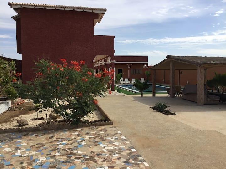 Villa la ISLA - panneaux solaires/ grands groupes