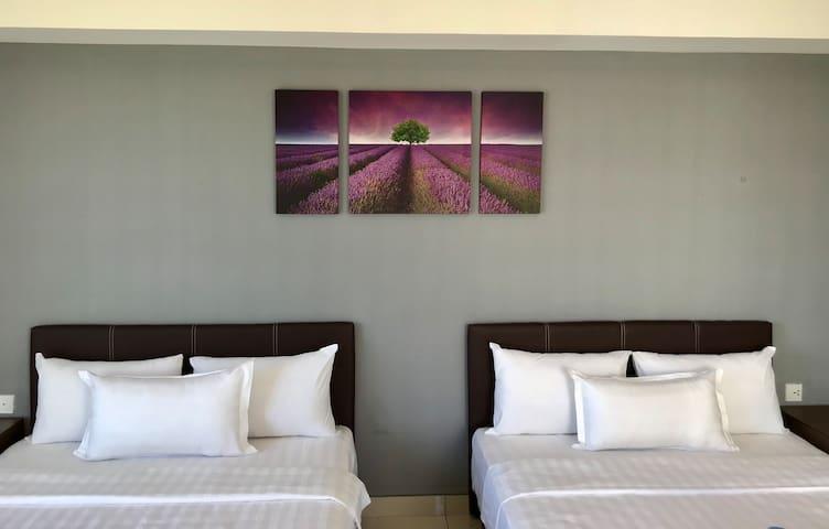 简易风格海景公寓 [近机场] (五人) A1 5pax Cozy SeaView Suite