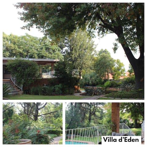LA VILLA D'EDEN On Elder Street, Sandton