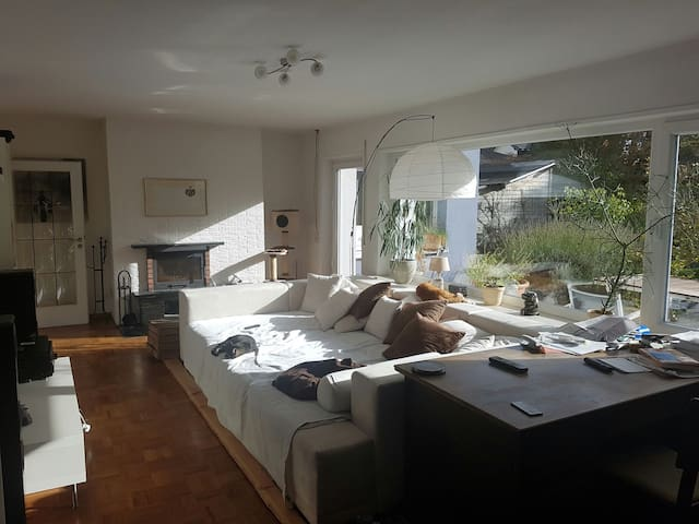 Beautiful room near to airport+fair - Hattersheim am Main - Ev