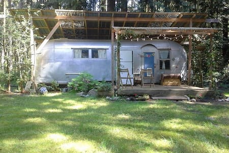 Rustic Airstream at Trails End - Port Townsend