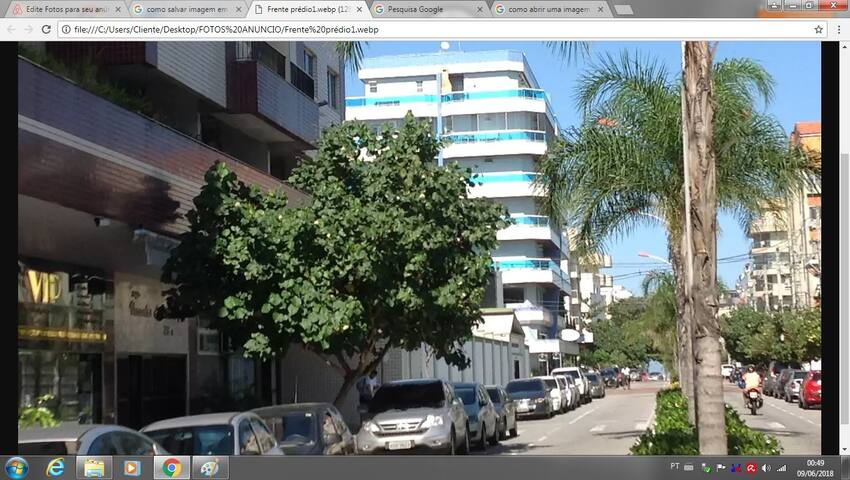 Apartamento entre o Centro e a Praia do Forte