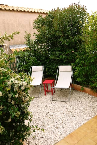Duplex jardinet Sanary-sur-Mer
