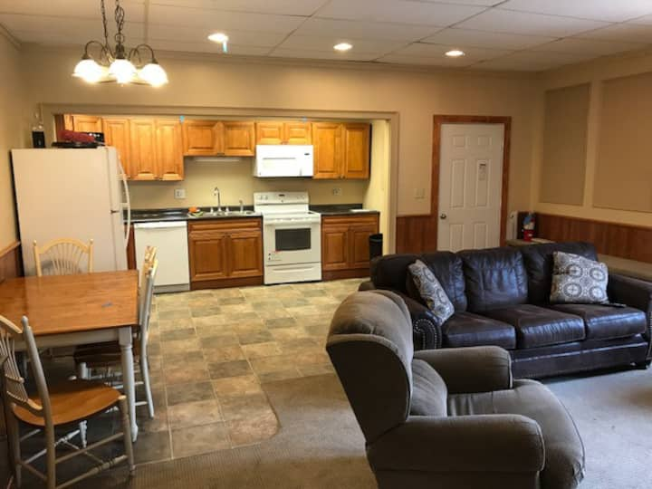 Downtown Fredonia Summer Creekside lofts Suite 1